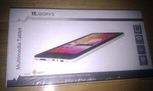 Tablet barata por menos de 50 euros it works TM 704